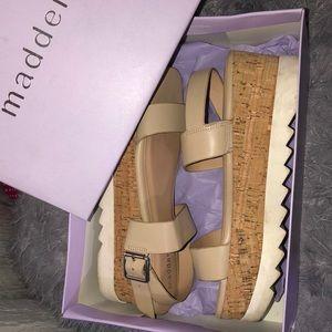 Steve Madden Girl Platform Wedge Sandals